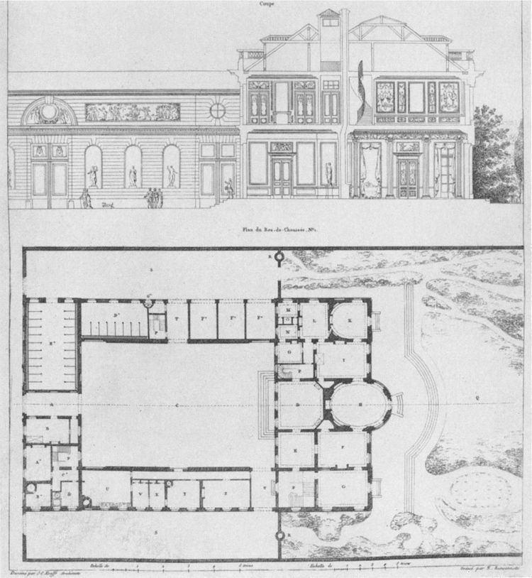 Hôtel de Bourbon-Condé FileHtel de BourbonCond floor plan and elevation Parker1967