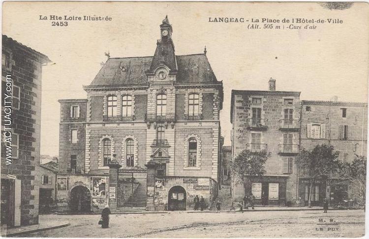 Hôtel de Langeac Cartes postales anciennes de Langeac 43300 Actuacity