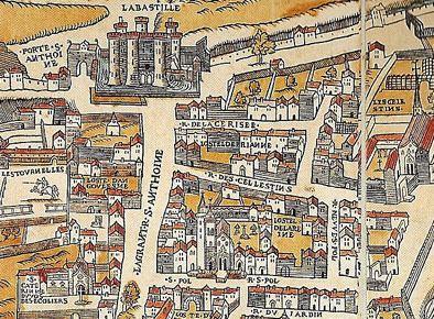 Hôtel des Tournelles Histoire de l39htel royal des Tournelles