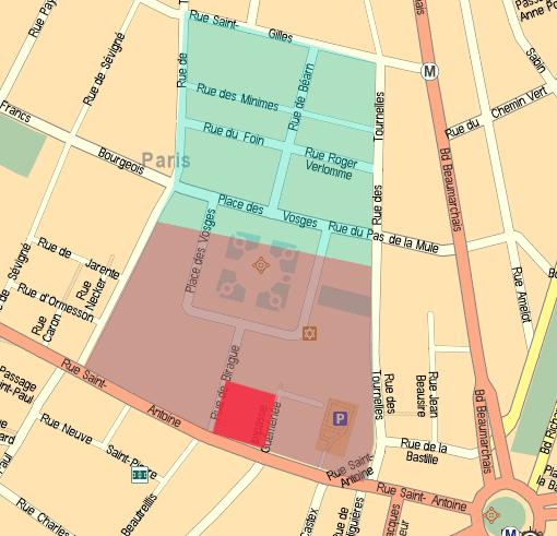 Hôtel des Tournelles L39HTEL DES TOURNELLES Histoire du Marais