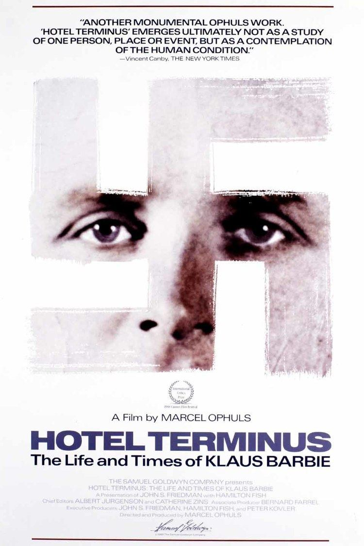 Hôtel Terminus: The Life and Times of Klaus Barbie wwwgstaticcomtvthumbmovieposters11979p11979