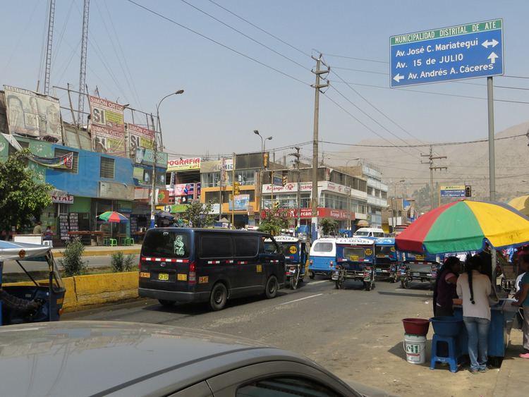Huaycán Huaycn Lima Per The Avenida 15 de Julio is the main bu Flickr