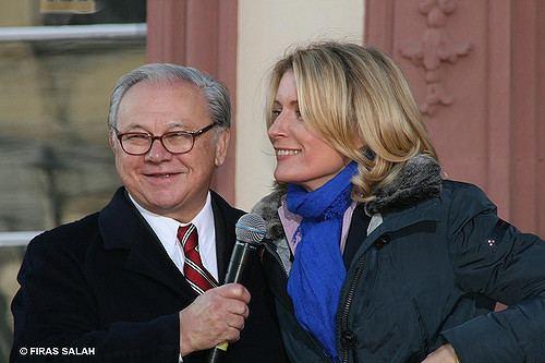 Hubert Burda Dr Hubert Burda und Dr Maria Furtwngler Flickr