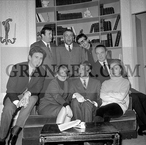 Hubert Deschamps Image of HUBERT DESCHAMPS french Actors In Play In Paris February