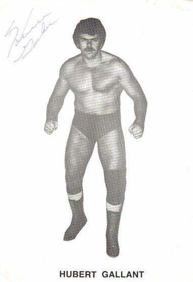 Hubert Gallant Hubert Gallant Online World of Wrestling