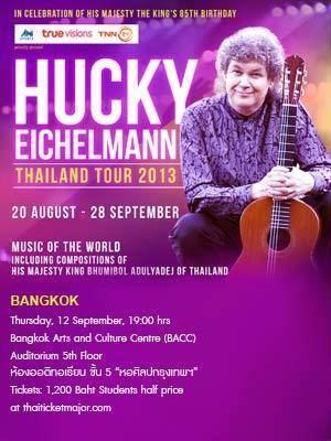 Hucky Eichelmann Hucky Eichelmann Thailand Tour 2013 to celebrate the auspicious