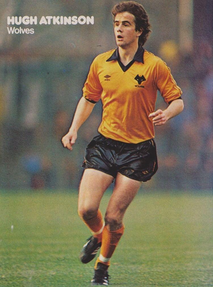 Hugh Atkinson (footballer) Hugh Atkinson Wolves 1970s Football Stars Pinterest Wolf