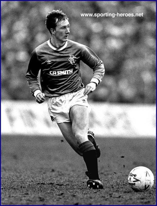Hugh Burns Hugh BURNS League appearances Rangers FC
