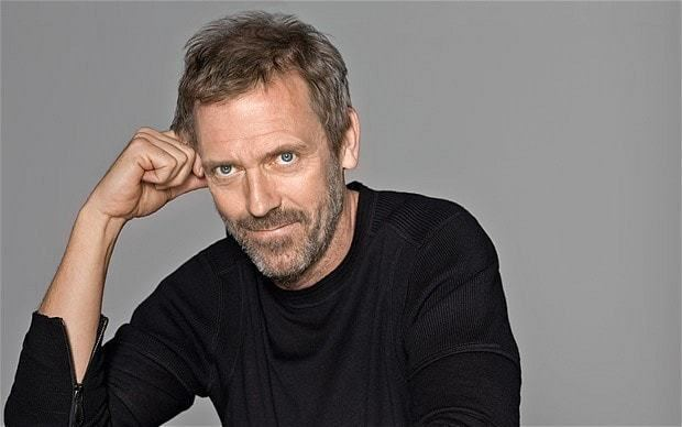 Hugh Laurie Hugh Laurie my fussfree grooming routine Telegraph