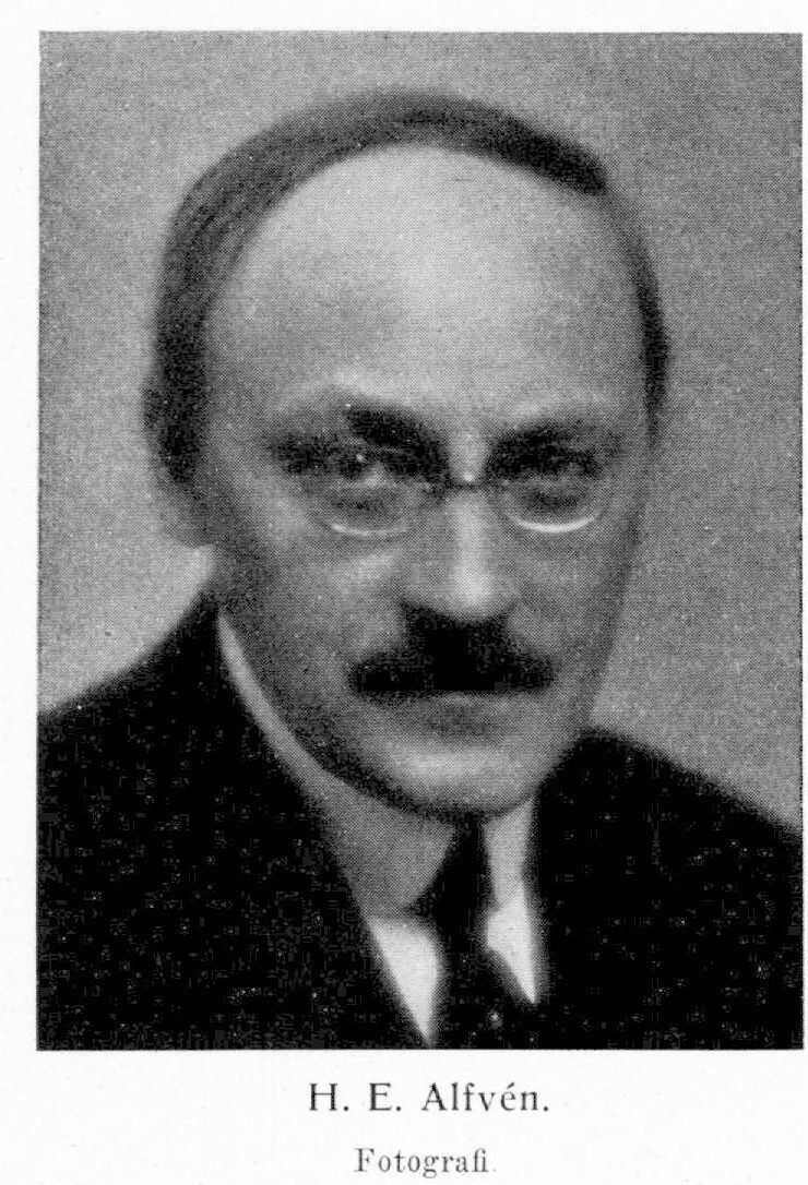 Hugo Alfven Hugo E Alfvn Svenskt Biografiskt Lexikon