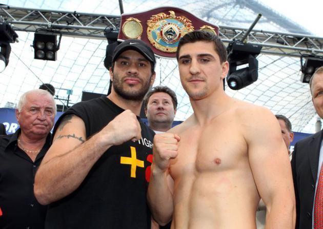 Hugo Garay Photos Marco Huck vs Hugo Garay Boxing news BOXNEWS