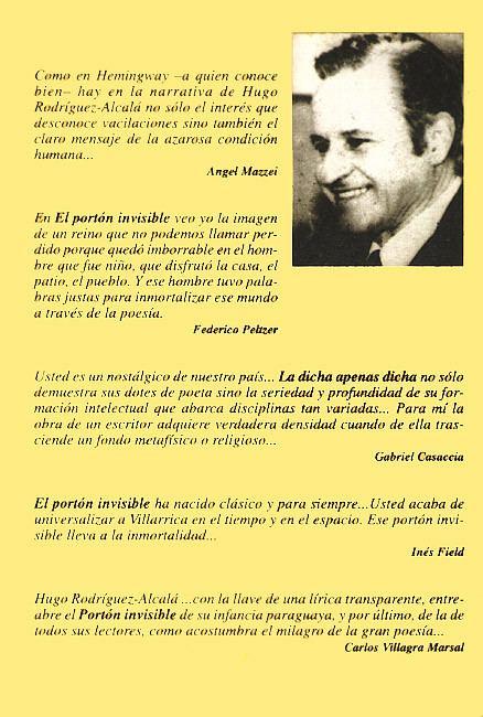 Hugo Rodríguez-Alcalá La potica de Hugo RodrguezAlcal tcnica y estilo Juan Manuel