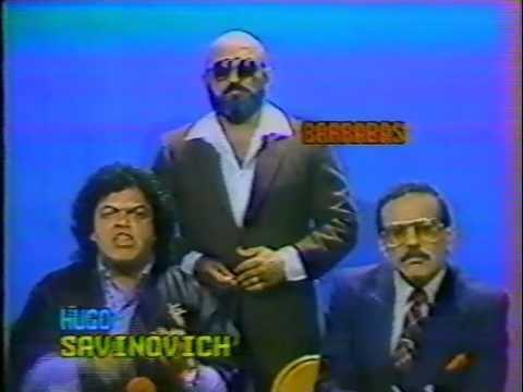 Hugo Savinovich WWC Entrevista Hugo Savinovich y Barrabs 1983 YouTube