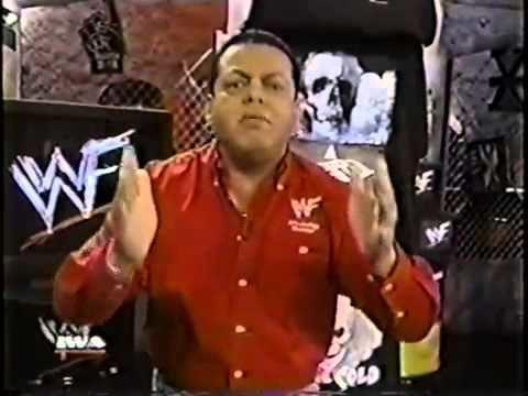 Hugo Savinovich IWA WWFHugo Savinovich Hace La Invitacion A Christmas In PR 1999