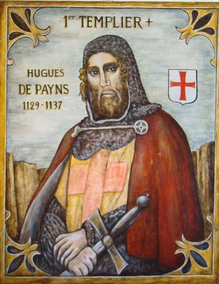 Hugues de Payens Hugo de Payens GUERREROS Pinterest