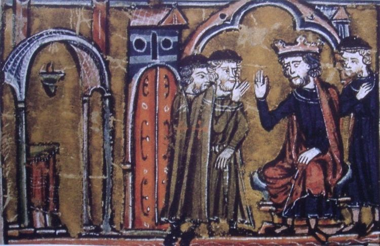 Hugues de Payens FileBaldwin II ceeding the Temple of Salomon to Hugues de