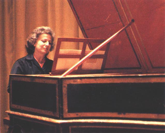 Huguette Dreyfus Huguette Dreyfus Harpsichord Short Biography