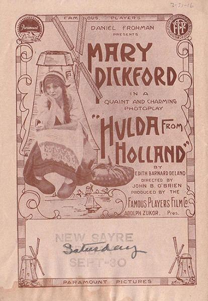 Hulda from Holland Hulda from Holland Mary Pickford Foundation