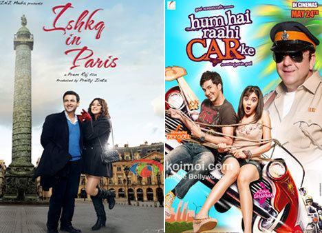 Box Office Predictions Ishkq In Paris vs Hum Hai Raahi CAR Ke Koimoi