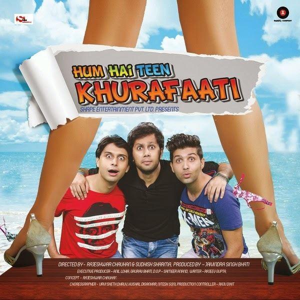 Hum Hai Teen Khurafaati 2014 Full Movie Watch Online DVDRip Hum Hai