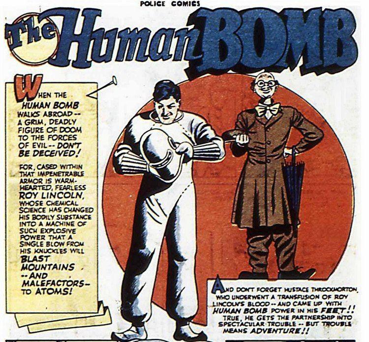 Human Bomb BOOKSTEVE39S LIBRARY The Human Bomb and his Quality Sidekick