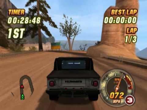 Hummer Badlands Hummer Badlands PS2 Gameplay YouTube