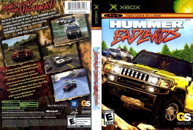 Hummer Badlands wwwtheisozonecomimagescoverxbox577jpg
