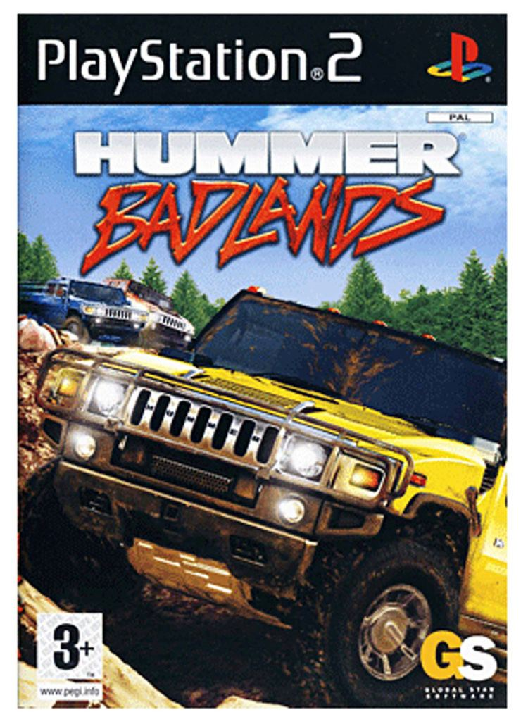 Hummer Badlands Hummer Badlands PlayStation 2 PS2 PAL Complete VERY GOOD