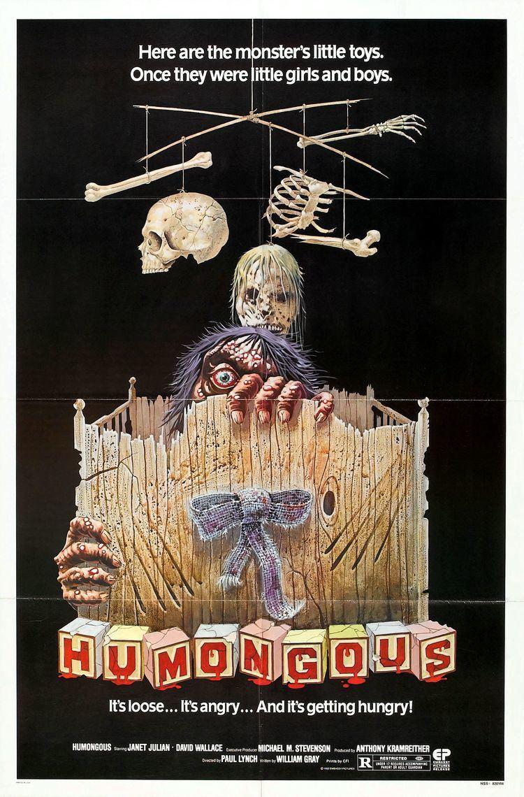 Humongous (1982 film) Humongous 1982 General Horror Films Extreme Horror Cinema