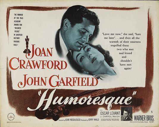 Humoresque (film) movie scenes This