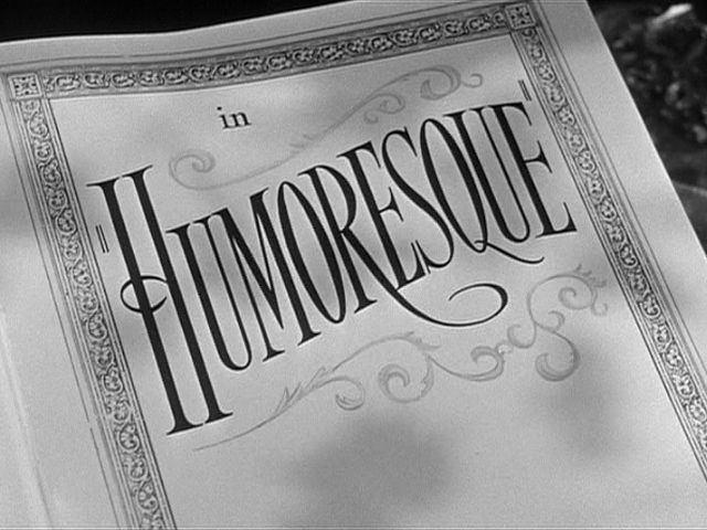 Humoresque (film) movie scenes Humoresque 1946 movie title Music Online Movie Title A Mini