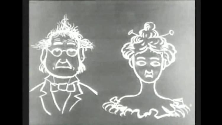 Humorous Phases of Funny Faces Humorous Phases of Funny Faces 1906 First Animation In Film YouTube