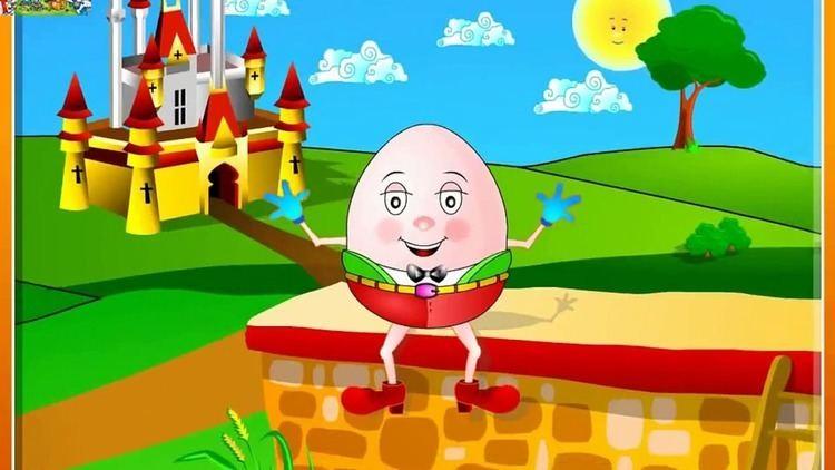Humpty Dumpty Humpty Dumpty Sat On A Wall Nursery Rhymes with Full Lyrics
