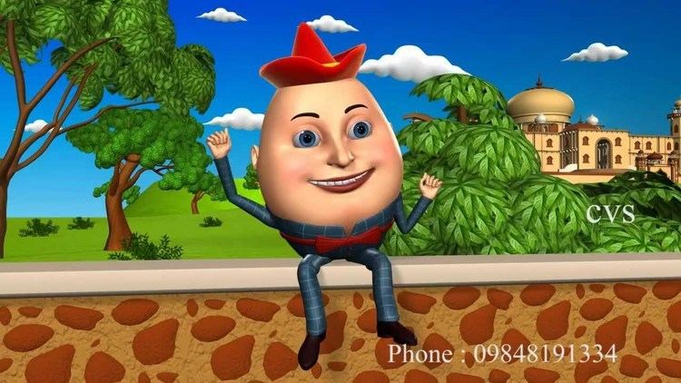 Humpty Dumpty Humpty Dumpty 3D Animation English Nursery Rhyme songs For