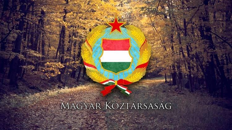 Hungarian People's Republic National Anthem of the Hungarian People39s Republic quotHimnusz