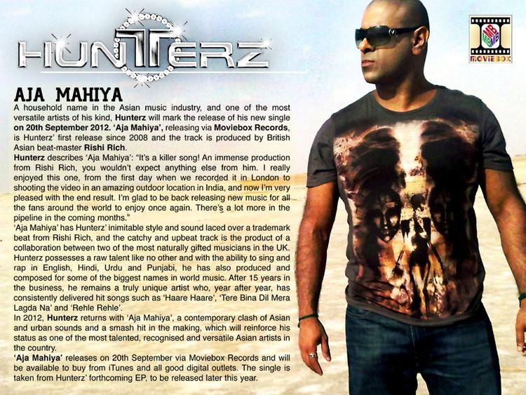 Hunterz Hunterz Aja Mahiya promo UrbanAsian