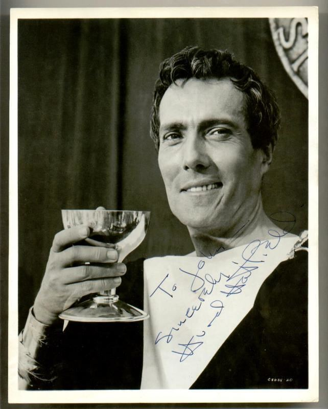 Hurd Hatfield Clickautographs autographs Hurd Hatfield