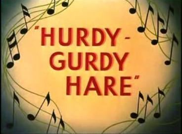 Hurdy Gurdy Hare movie poster