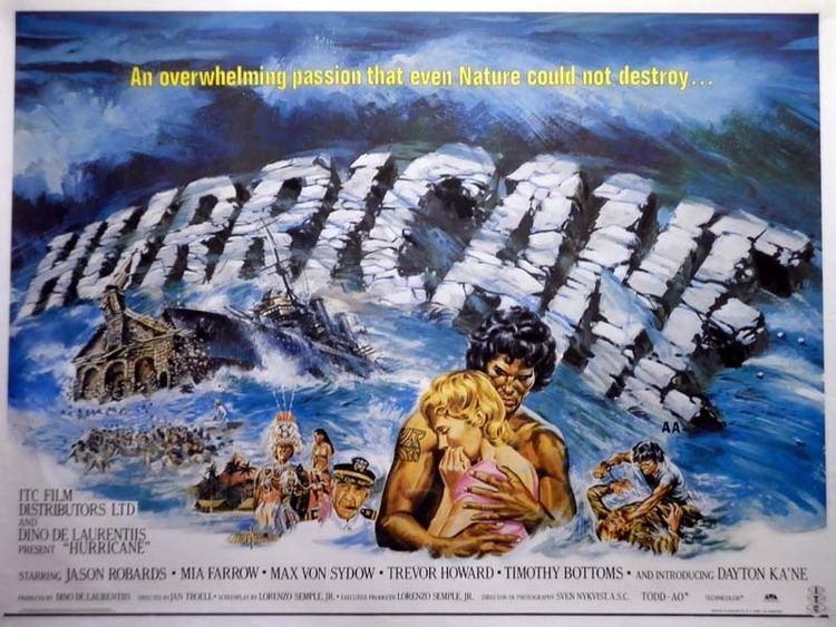 Hurricane (1979 film) MASTERS OF DISASTER HURRICANE 1979 Multitude Of Movies
