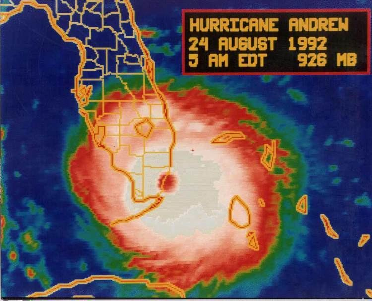 Hurricane Andrew Effects of Hurricane Andrew in Florida Wikipedia