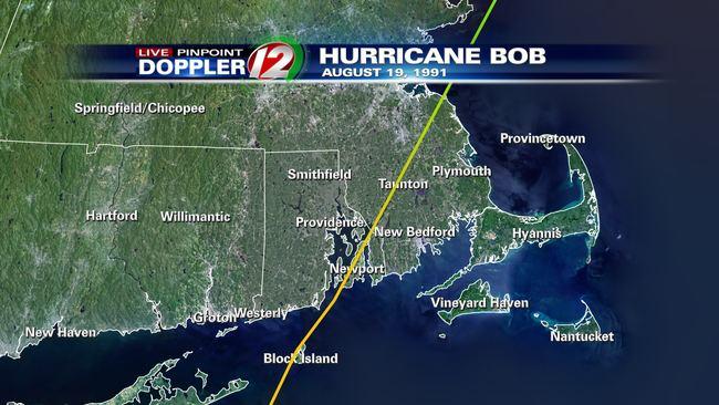 Hurricane Bob Hurricane Bob24 Years Later WPRI 12 Eyewitness News