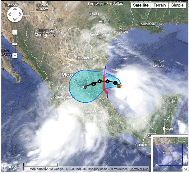 Hurricane Ingrid As Hurricane Ingrid approaches Mexico Texas takes in Mexican shrimp