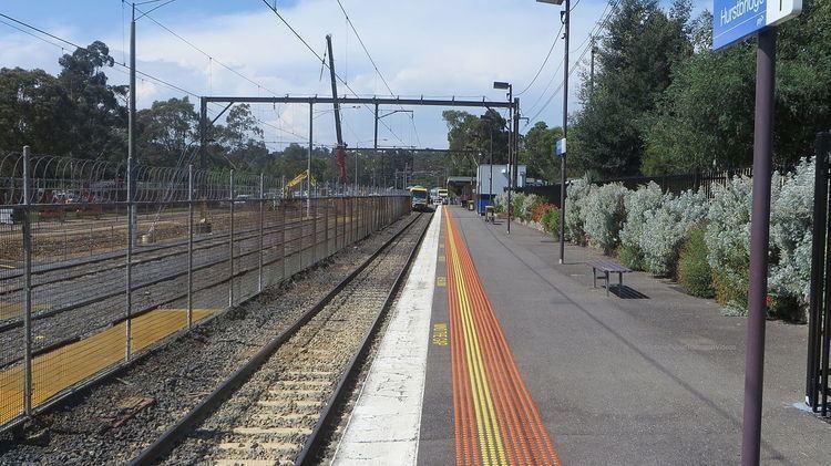 Hurstbridge railway station