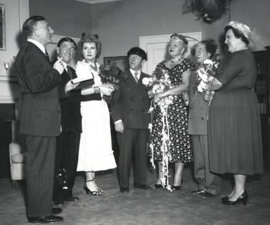 Husbands Beware HUSBANDS BEWARE 1956 starring The Three Stooges