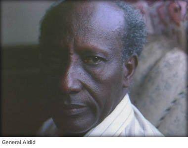 Hussein Farrah Aidid General Mohamed Farrah Aidid