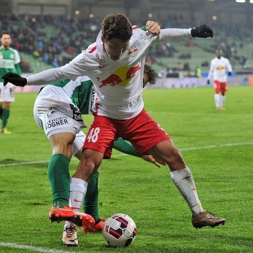 Hwang Hee-chan FC Red Bull Salzburg Two youngsters in international action