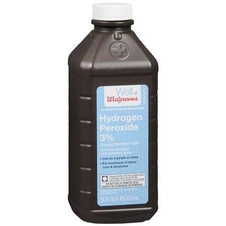 Hydrogen peroxide Walgreens Hydrogen Peroxide 3 First Aid Antiseptic Walgreens