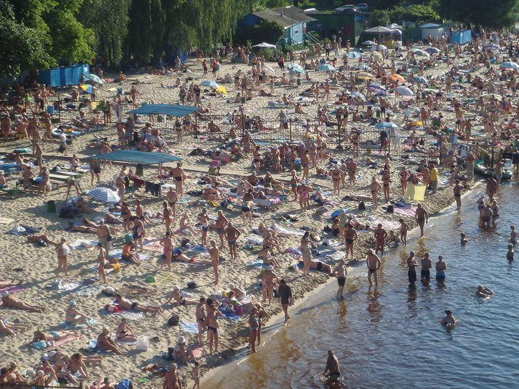 Hydropark in Kiev