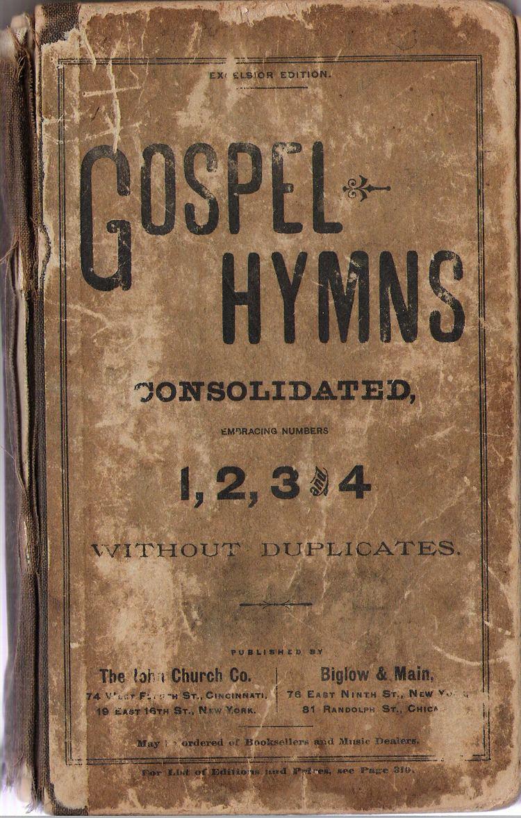 Hymn Ira Sankey39s Gospel Songs part 5 Immoderate