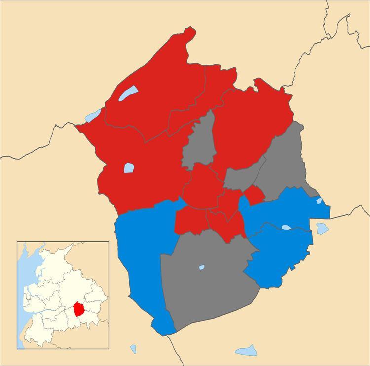 Hyndburn Borough Council election, 2012